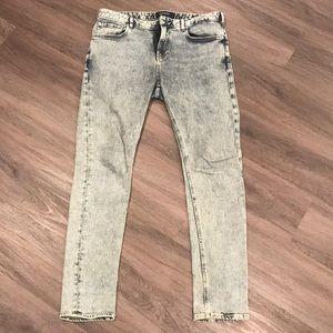 Scotch & Soda Retro Washed Skim Jeans (Skinny fit)